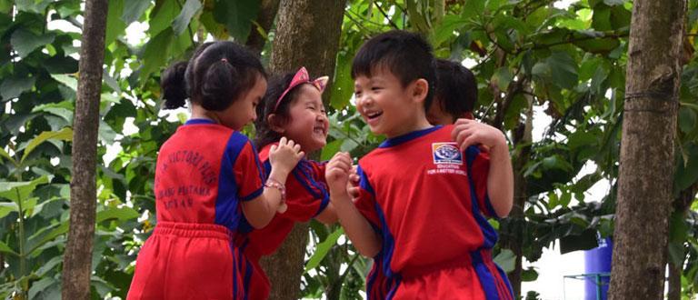 International School Outdoor Learning Center Sekolah Victory Plus