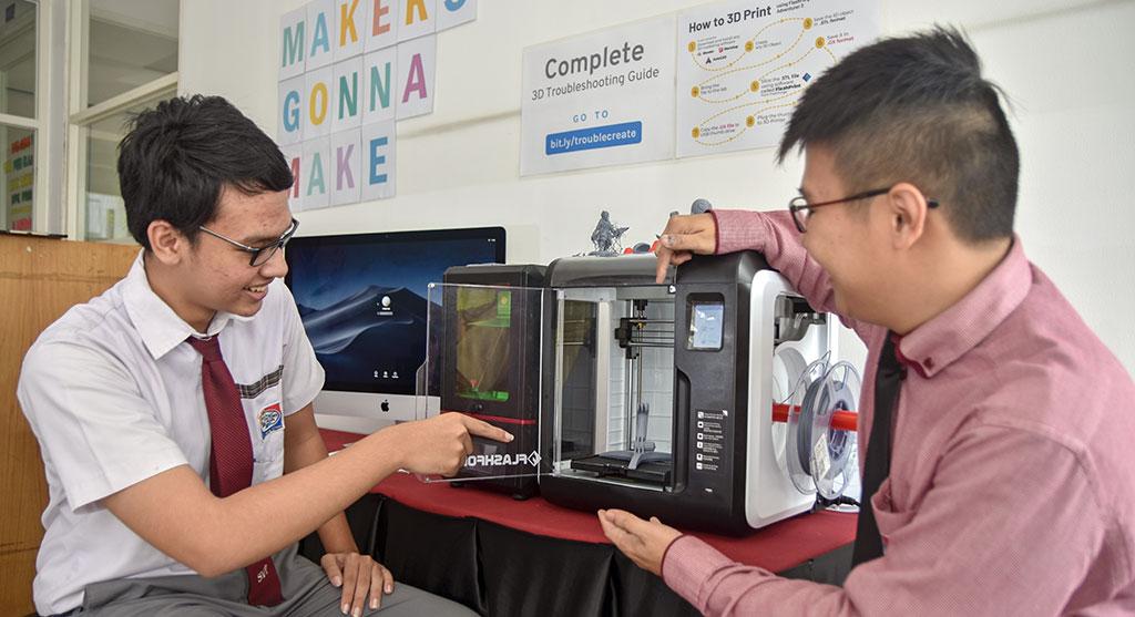 3d-printing Sekolah International
