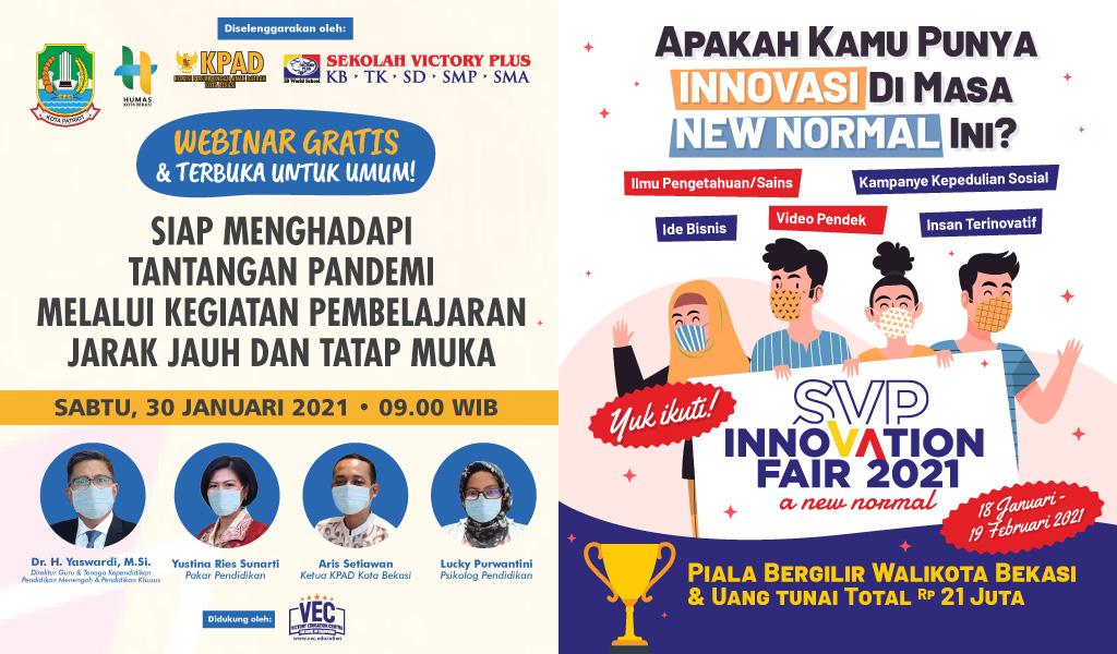 Webinar dan Inovation Fair